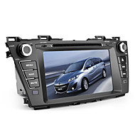"8"" 2 Din TFT Screen Car DVD Player For Mazda 5 With Bluetooth,GPS,iPod-Input,RDS,Canbus,with 1 Kudos TF Card"
