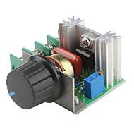 2000W állítható 90 ~ 220V feszültség szabályozó félhomályban lámpák fordulatszám-szabályozás (220V)