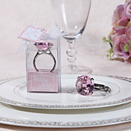 """Engagment Ring Keychain with Gift Box and """"For You"""" Tag"""