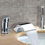 BENTONVILLE - ברז לאמבטיה שתי ידיות מפל מים