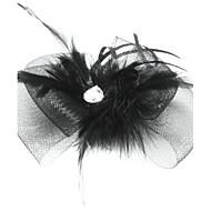 Femme Plume / Tulle Casque-Occasion spéciale Coiffure
