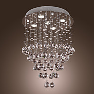 Max 60W Chandelier / Flush Mount ,  Modern/Contemporary Others Feature for Crystal / Bulb Included MetalLiving Room / Bedroom / Dining