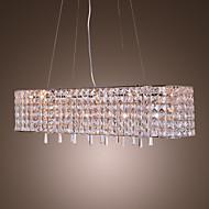 Lustre de Tecto Pendente em Cristal com 16 Luzes