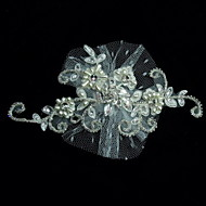 Women's Lace/Pearl/Rhinestone/Tulle Headpiece - Wedding/Special Occasion/Casual Fascinators