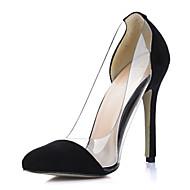 Flerfarvet - Stilethæl - Kvinders Sko - Hæle - Ruskind - Formelt - høje hæle