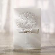 Bouquet Pattern Wedding Invitation-Set Of 50