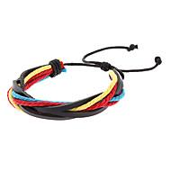 Multilayer Twist Shape Mashup Armband