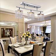 צמודי תקרה ,  מודרני / חדיש כרום מאפיין for קריסטל מתכת חדר שינה חדר אוכל כניסה