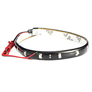 LED Light Strips 60CM, Red/White/Blue