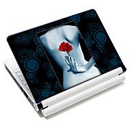 """""""Sexy roos"""" patroon laptop beschermende huid sticker voor 10 """"/ 15"""" laptop 18350 (15 """"geschikt voor onder 15"""")"""