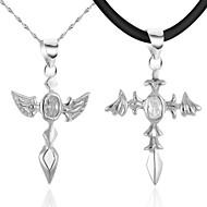 Halsband Cubic Zirconia Pars Jubileum/Födelsedag/Gåva/Dagligen/Casual Silver