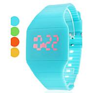 Unisex Rubber Digital LED Wrist Watch (Assorted Colors)