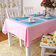 Beige / Blue / Brown / Green / Pink / Purple / Red / Yellow / Orange 100% Cotton Table Cloths