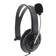 אוזניות מיקרופון אוזניות עבור ה-Xbox 360 (שחור)