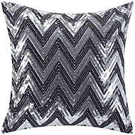 Polyester Pillow Cover , Chevron Modern/Contemporary