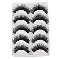 5 Pairs European Black False Eyelashes 324