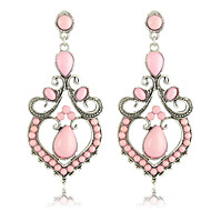 Chandelier Earrings Women's Alloy Earring Rhinestone