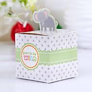 Boîtes à cadeaux Faveurs et cadeaux de fête Baby shower Thème de conte de fées Cubique Papier durci