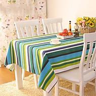 Multicolore 100% Coton Nappes de table