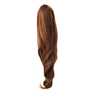 Top Grade Synthetic Long Straight Brown Ponytail (2 colors)