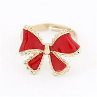 Women's European Style Fashion Sweet Bow Ring