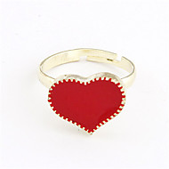 slatka legure akrilna srca uzorak prsten (ponekog boja)