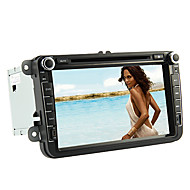 8-inch 2 Din TFT Screen In-Dash Car DVD Player For Volkswagen With Bluetooth,Navigation-Ready GPS,iPod-Input,RDS,Canbus,TV