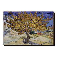 Mulberry Tree, 1889 Vincent Van Gogh Famous Canvastaulu