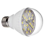 E27 3.0W 20x5050SMD 240-300LM 6000-6500K Cool White Light LED Bulb (220V)