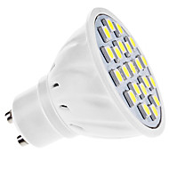 GU10 3.5 W 21 SMD 5050 210 LM Natural White MR16 Spot Lights AC 110-130/AC 220-240 V