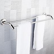 Нержавеющая сталь двойная вешалка для полотенец Полотенце Rod Подвеска полотенцем Бар