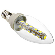 Eastpower E14 2.5 W 16 SMD 5050 180 LM Cool White C35 Decorative Candle Bulbs AC 220-240 V