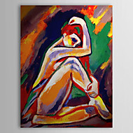 Hand Painted Oil Painting People Nude with Stretched Frame 1306-LS0285