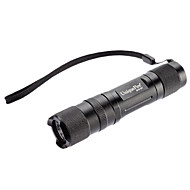 Uniquefire S10-UV 1-Mode LED Ultraviolet Rays Flashlight(395-410nm, 1x14500/AA, Black)
