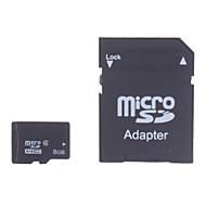 8GB 마이크로 SD 카드 TF 카드 메모리 카드 CLASS4