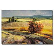 impresso da arte da lona paisagem serrana estrada por Stanton manolakas com quadro esticado