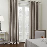 To paneler Vindue Behandling Middelhavet , Solid Polyester Materiale Gardiner forhæng Hjem Dekoration For Vindue