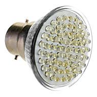 B22 3.5W 60-LED 300-330LM 6000-6500K Blanc Naturel Ampoule spot LED (85-265V)