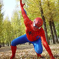 Punainen ja Sininen Lycra Full Body Spiderman Zentai