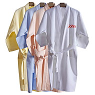 Personalized Unisex Cotton Bathrobe (More Colors,More Sizes)