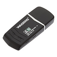 150Mbps Wireless N USB Adapter 1T1R kompatibel Windows / Mac (mit WPS-Funktion)