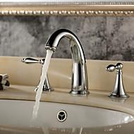 浴室用水栓 - 現代風 真鍮 (クロム)