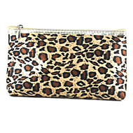 Fashion Leopard Canvas Casual Accessories Bag