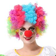 Senza cappuccio di alta qualità sintetico parrucche del partito colorato (colori casuali)