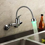SHOTTON-HAWARDEN - ברז למטבח ידית יחידה מותקן על הקיר LED