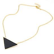 Hottest Alloy med Triangle anheng kvinner Necklace