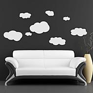 Nuvens adesivos de parede
