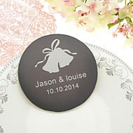 Personalized Wedding Bell von 4 Untersetzer-Set (weitere Farben)