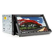 7-tommer 2 DIN TFT skærm in-dash bil dvd-afspiller med bluetooth, ipod-input, navigation-ready gps, rds, tv