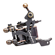 Compass Steel Wire-Cutting Dual Coils 8 Wraps Tattoo Machine for Liner